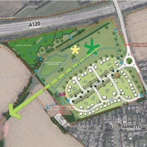 Planning Permission Obtained, Land at Parsonage Road, Takeley